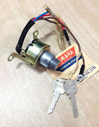 Yamaha Yl2 Main Switch With Keys 1967-68 Nos Yg5 L5 Ignition Switch 102-82510-10