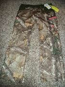 Under Armour New Nwt Womens Loose Pants Camo Camouflage Storm Real Tree 10
