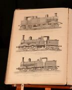 1886 Recent Locomotives Enlarged Edition With Plates