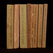 1911-1919 8vol Auction Catalogues Henry Huth Sothebys Buyers Lists Illus