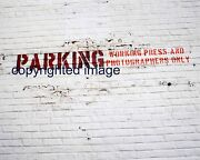Old Comiskey Park Outside Left Field Wall Parking For Press 1990 Color 8x10 Tt