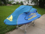 Arctic Cat Tigershark Daytona Cover 1998 Teal And Blue New Out Of Box Oem 549