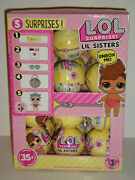 Lol Surprise Series 3, Wave 1, Little Lil Sisters Full Box Case Of 24 Balls