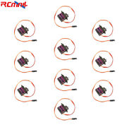 10pcs Mg90s Micro Rc Servo Motor Metal Gear For Helicopter Airplane Arduino Car
