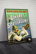 Creature From The Black Lagoon 1955 Danish Movie Poster Framed