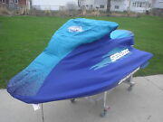 Sea Doo Xp Xp Ltd Xp Di Cover Purple And Teal With Dealer Logo New Oem