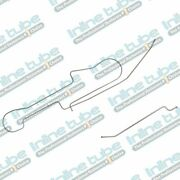1980-1989 Fits Dodge Ram Truck W150 Longbed 1/4 Fuel Return Lines Stainless