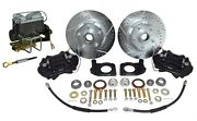 1964-66 Ford Fairlane Complete Front Disc Brake Conversion Kit - Deluxe