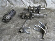 97 Yamaha Timberwolf 250 Transmission Complete Shift Forks And Drum Yfb250 2x4