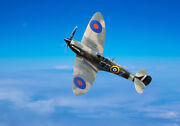 Spitfire Mk2 Eb-z Observer Corps 41 Squadron Canvas Prints Free Delivery