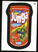 2013 Topps Wacky Packages Series 11 Black Ludlow Back 44 Junga
