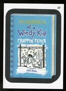 2013 Topps Wacky Packages Series 10 Cloth Stricker Parallel 37 Diarrhea Of Windy