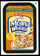 2013 Topps Wacky Packages Series 11 Black Ludlow Back 16 Undead Moany Wheats