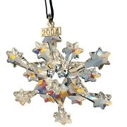 2004 Christmas Star / Snowflake, Mint, Ornament Only