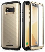 For Samsung Galaxy S8 / S8+ Plus Case, Clayco Hera Series Full-body Cover+screen