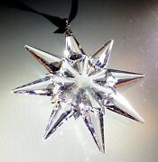 2009 Christmas Star / Snowflake, Mint, Ornament Only