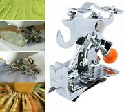 Ruffler Sewing Machine Presser Foot Fit All Low Shank Singer Brother Baby Lock