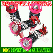 Emusa Coilovers Suspension Red Fit 240sx 1989-1994 S13