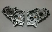 1969 Oem Kawasaki C2ss Tr120 Road Runner Left And Right Side Engine Case Set