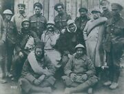 Soldiers Standing Together And Facing Camera. 1914-1918. - 8x10 Photo