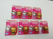 1983 Child Guidance Hello Kitty Collectibles 7 Figure Lot Sealed Nip