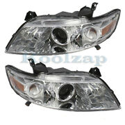 For 03-08 Fx35 And Fx45 Front Headlight Headlamp Xenon/hid Head Light Set Pair