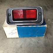 D0vy-15a201-d   Nos Ford Side Marker Light W/ Bezel 70 73 Lincoln Continental