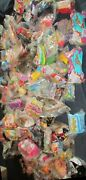 Huge Lot Of 139 Mixed Mcdonalds And Burger King Fast Food Toys, Mint In Package