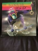 Vinyl Records - Scorpions- Fly To The Rainbow- Vg Condition Signed By Uli J.roth