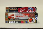 White Rose Collectibles Nfl Cleveland Browns Tractor Trailer 1993