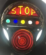 """""""verry Rare"""" Monarc 5 Jeweled💎 Stop Tail Light And License Plate Light- Glass"""