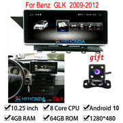 Android 10 Car Gps Auto Radio Bt 4gb+64gb For Mercedes Benz Glk Class 2009-2012