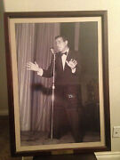 Tony Bennett Photo From The Closed Sahara Casinoremoved From Wall 1st Day Sale