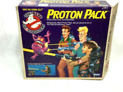 1986 Kenner Ghostbusters Proton Pack Pke Meter Complete Boxed Id Card Arm Band