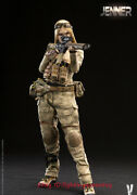 Verycool 1/6 Vcf-2037 Ruins Camouflage Female Soldier-jenner Figure In Stock
