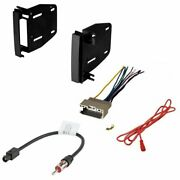 Double Din Radio Dashboard Install Kit For Select Dodge Chrysler Jeep Vehicles