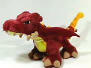 Lego 2005 Red Yellow Dragon Plush Stuffed Animal Toy Doll Posable Wings 15