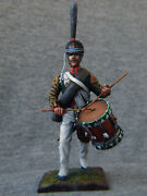 Drummer Grenadier Of The Russian Guard Lithuanian. Elite Tin Soldiers 54 Mm