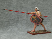 Elite Tin Soldiers St. Petersburg Egyptian Warrior With A Spear 54 Mm