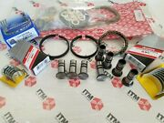 Volkswagen 1600cc Air Cooled Engine Rebuild Kit Rings Cam And Rod Brgs. 8-lifters