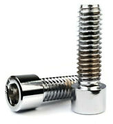 7/16-14   Chrome Plated Steel Socket Head Cap Screws - Select Length And Qty