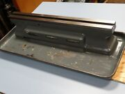 Schaublin Model 70 Lathe Bed With Tray