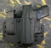 Hunt Ready Holsters Glock 42 Lh Owb Holster With Extra Mag Carrier