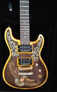 Custom Carved Guitar Fernandes Dragonfly With Case And Strapandnbsp