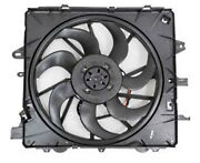New Radiator Fan For 2013 2014 Cadillac Ats Cts 3.6l 2.0l W/engine Oil Cooler