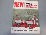Ford 4-row Pull Type Corn Planters Brochure         Lw