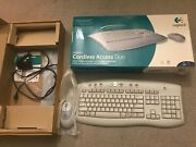 Logitech Cordless Access Duo Mouse Keyboard Excellent