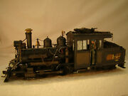 On30 Forney Logging Steam Engine  - Sound, Dcc  - Custom Weathered - Lot 5