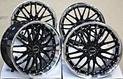 Alloy Wheels 19 19 Inch Alloys Cruize 190 Bp Staggered Clear Brembo Brakes