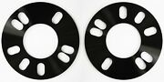 2 X 5mm Spacers Hubcentric 4x114 66.1 Fit Nissan 200sx S13 Almera Altima
